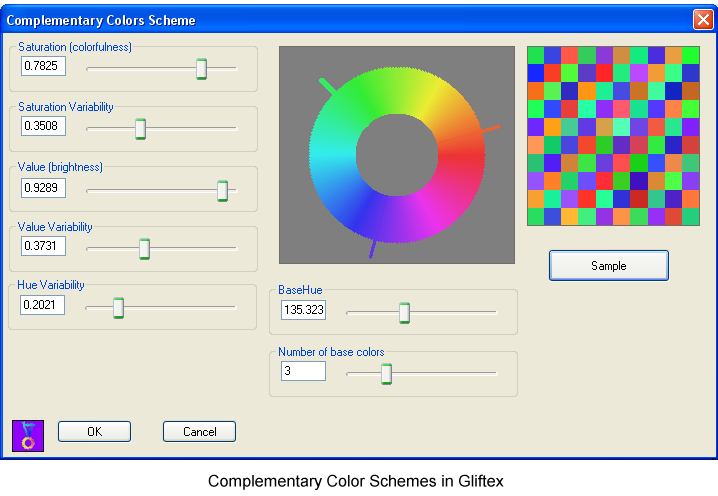 Complementary Color Scheme Selection. Now if there were only these pure hues
